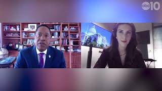 Larry Elder talks $0.00 minimum wage, ex-wife accusation, issues with Newsom, and more