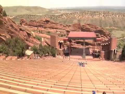 Red Rocks Amphitheater Denver Co Youtube