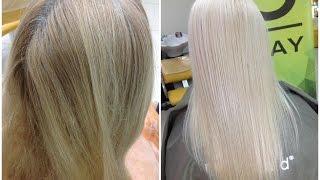 Блонд без порошка: осветление волос крем краской // Blonde hair without bleach: special blonde