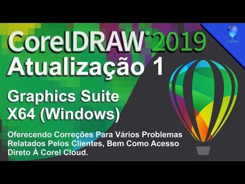CorelDRAW Graphics Suite 2019 x64 Windows   Atualização1