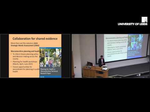 ESRC Strategic Network for Obesity - Michael Chang