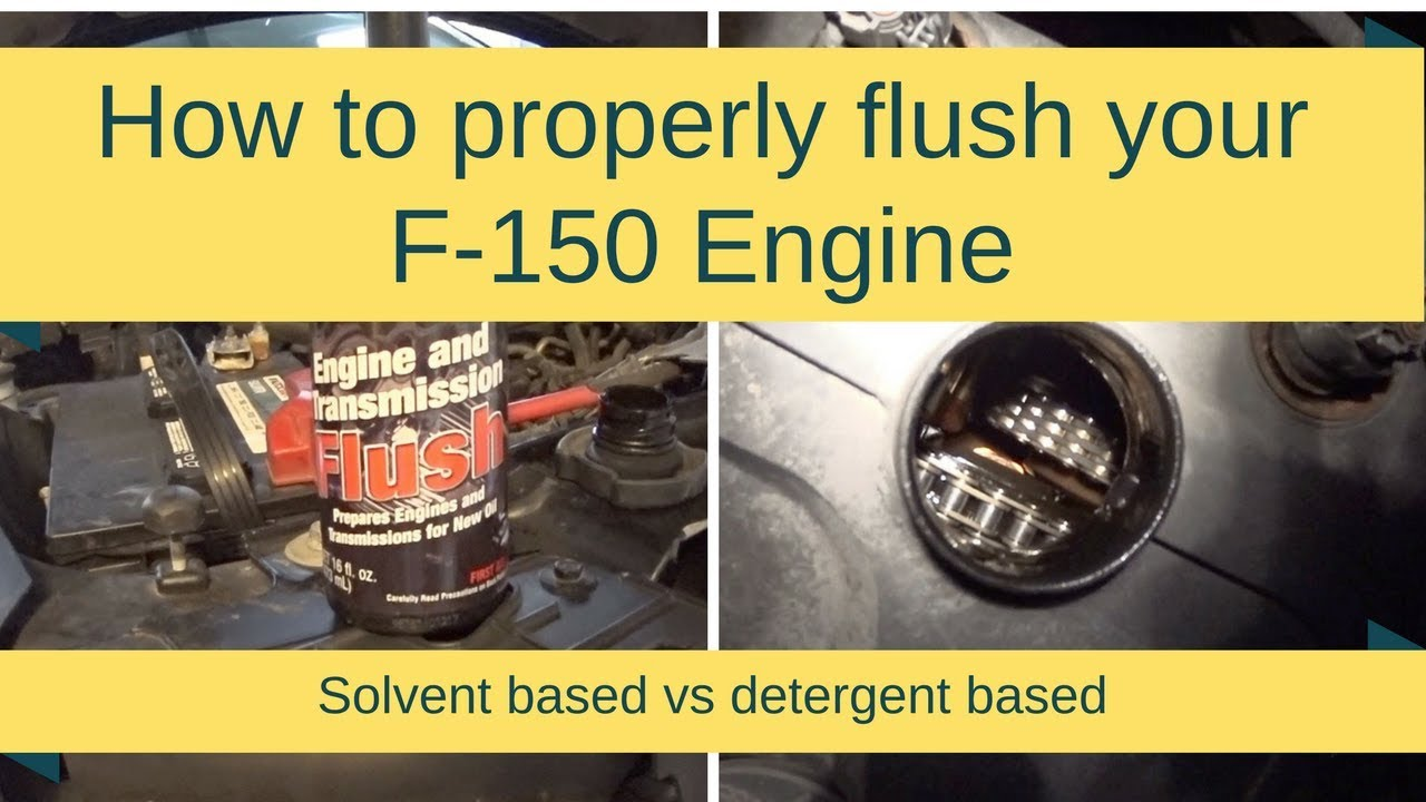 How to properly flush the engine in the car