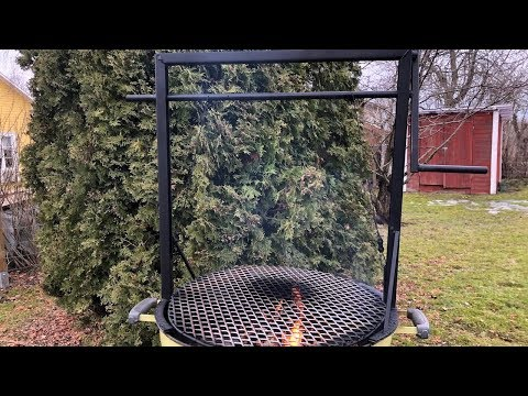 DIY Santa Maria Grill for the Weber - how to build one