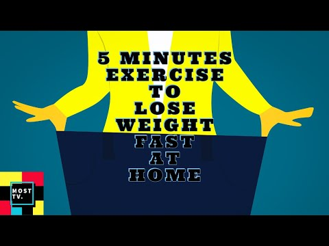 Exercise to lose weight fast at home-6 Simple Exercises You Can Do In Your Bedroom| Most TV