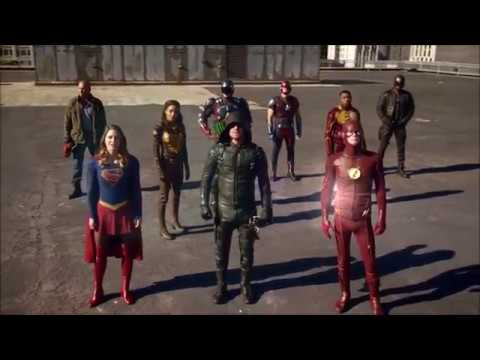 DC CW Superheroes Tribute: Forever Fight As One