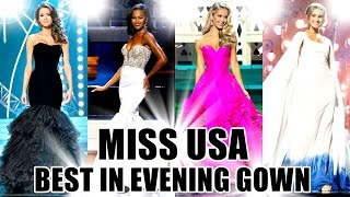MISS USA 2013-2016 | BEST IN EVENING GOWN
