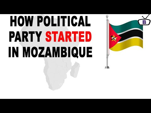 How political parties started in Mozambique