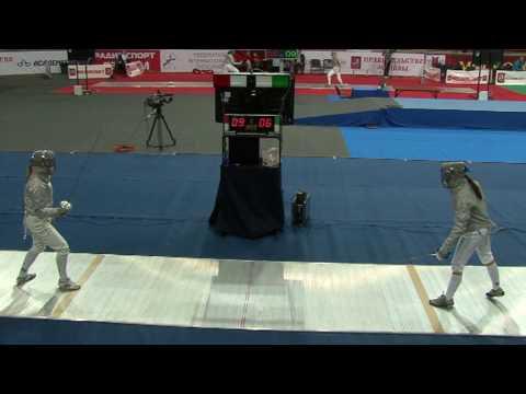 20100214 ws gp Moscow 64 blue VORONINA Olena UKR 15 vs KOZLOVA Nina UKR 13 sd No