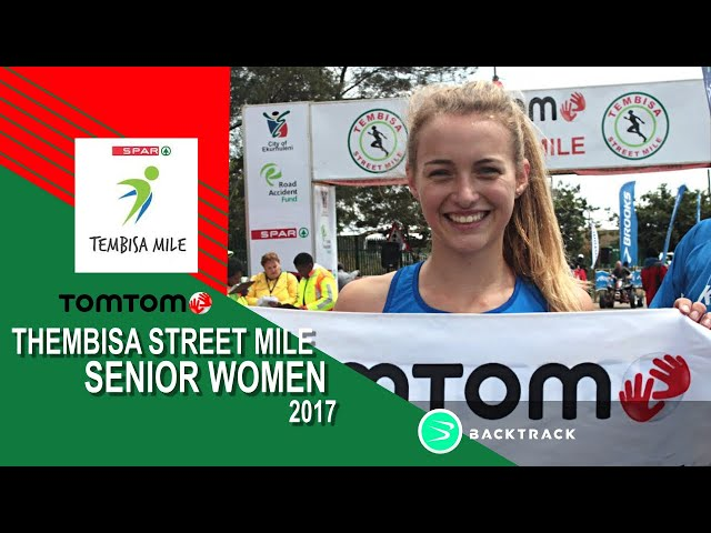 Youth Athlete Nicole Louw wins Senior race at TomTom Tembisa Streetmile