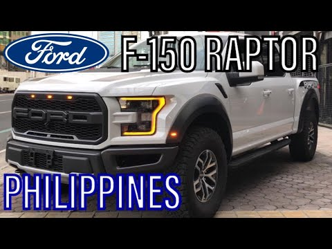 For Sale In The Philippines: 2019 Ford F-150 Raptor (White)