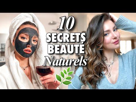 10 SECRETS NATURELS DE BEAUTÉ - Acné, peau grasse, cils, cheveux...   SleepingBeauty