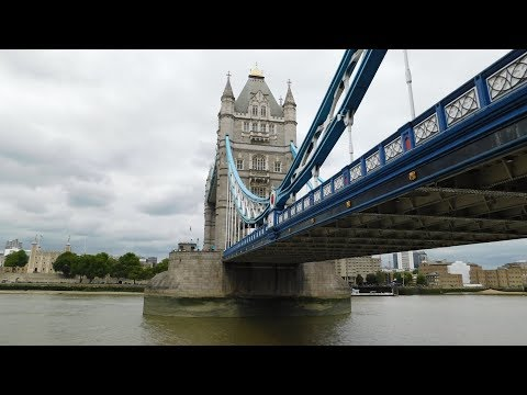Inside Tower Bridge, London!