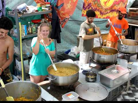 Ananda Marga Microvita Vegetarian Restaurant @ Boom Festival 2014