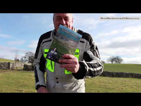 Cumbria Lake District MotorBike Touring Tours Guidebook with Kevin Lear