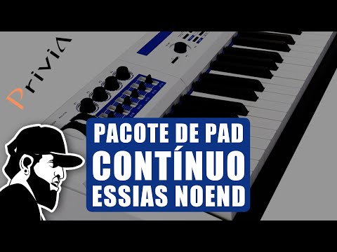 PADS Contínuo No PX-5S Sem Pendrive   Casio Privia PX-5S (PX5SEP041)