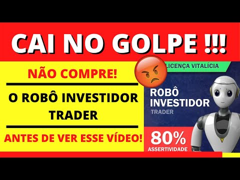 robo investidor trader é confiável
