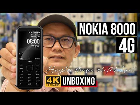 ĐẬP HỘP NOKIA 8000 4G: HUYỀN THOẠI CÓ TRỞ LẠI?   NOKIA 8000 4G UNBOXING