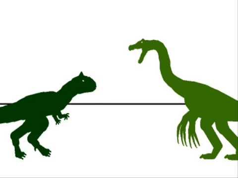 PJFC-therizinasaurus vs carnosaurus