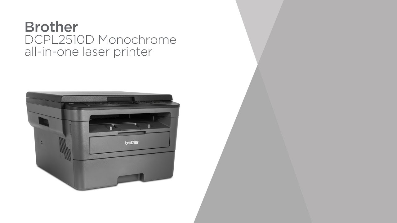 Brother DCPL2510D Monochrome All-in-One Laser Printer | Product Overview |  Currys PC World