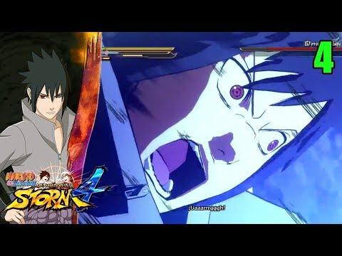 Nos Ponen a Prueba !! Modo Historia - Naruto Shippuden Ultimate Ninja Storm 4 Ep 4