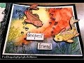 Mixed Media Process Series-28 Page Mini Art Journal Page #14 Deepest Friend for Designs by Ryn
