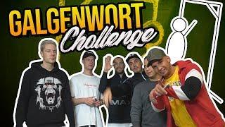 GALGENWORT CHALLENGE! | PIETRO LOMBARDI | SASCHA | BARIS | PETER
