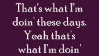 These Days Lyrics - Rascal Flatts thumbnail