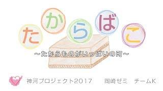 神戸学院大学 現代社会学部 岡崎ゼミ(2017年度2回生)のチームKが、ア...