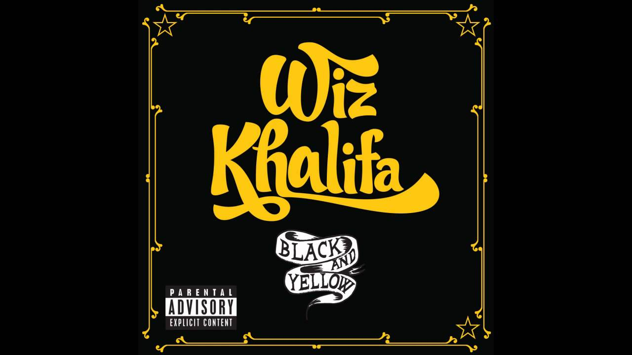 Book With Black And Yellow Cover : Black yellow wiz khalifa hd youtube