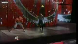 John Cena vs Edge Last Man Standing Match parte 4