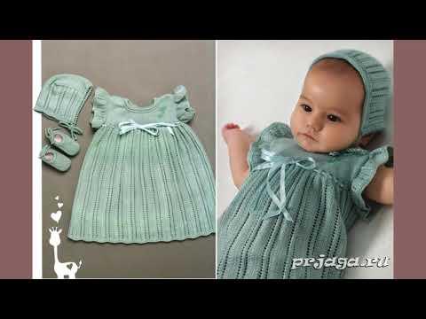 Вязаные детские платья и аксессуары к ним от мастера Ирина Люблю вязать из Москвы