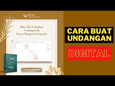 Cara Mudah Bikin Animasi Undangan Digital hingga Website Untuk Konten Kreatif Wedding! #short