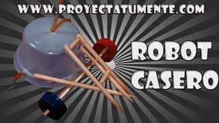 Como hacer un Robot de Combate (Juguete Casero)