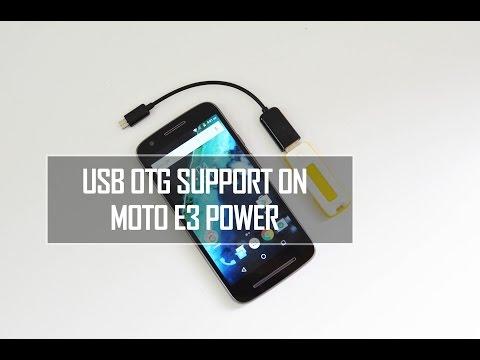 Moto E3 Power USB OTG Support   Techniqued