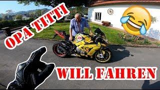 Kranker Sound!!! | BMW s1000rr Dunlop TT | Bike Opa Titti