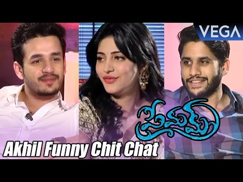 Akhil Funny Interviews Naga Chaitanya and Sruthi Hassan About Premam Movie