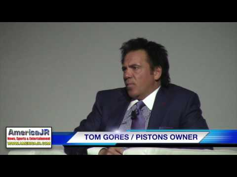 Tom Gores discusses Pistons move, MLS bid and Flint water crisis