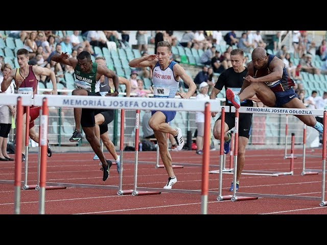 110m Hurdles at Memorial Josefa Odlozila 2019