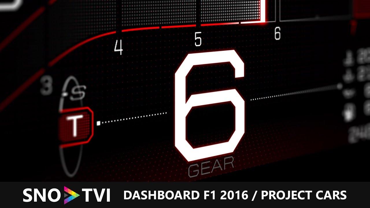 avis test dashboard tableau de bord f1 2016 project. Black Bedroom Furniture Sets. Home Design Ideas