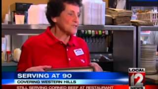 Serving At 90, A Local Restaurant Staple