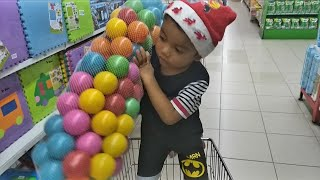 Beli Mainan Baru Bola Warna Warni di Toko Mainan - Color Ball for Kids - Toy for Kid (Zefa Toys)