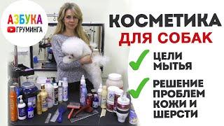 Косметика для собак - что выбрать? Человеческий шампунь на животных - последствия... Запись эфира.