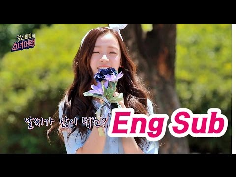 [Gril's Attack] Jin-sol from April sings 'Maria'