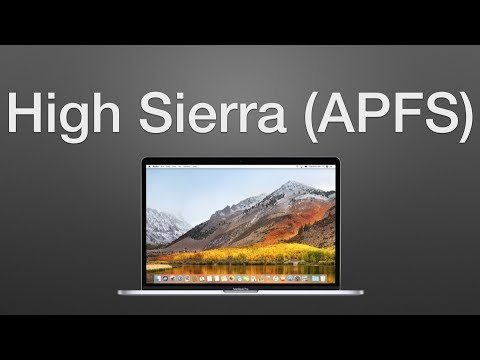 How to Format Hard Drives as APFS in macOS High Sierra 10.13
