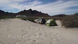 Free camping in Tecolote Baja California