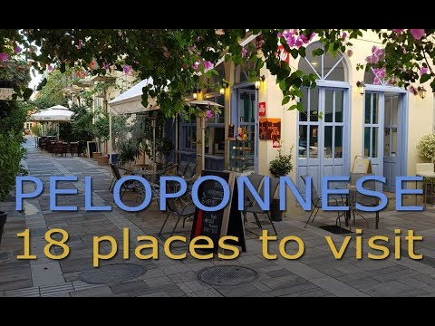 Peloponnese | 18 places to visit