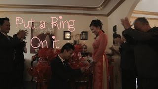Put a Ring On it! (Vivianne & Phu)