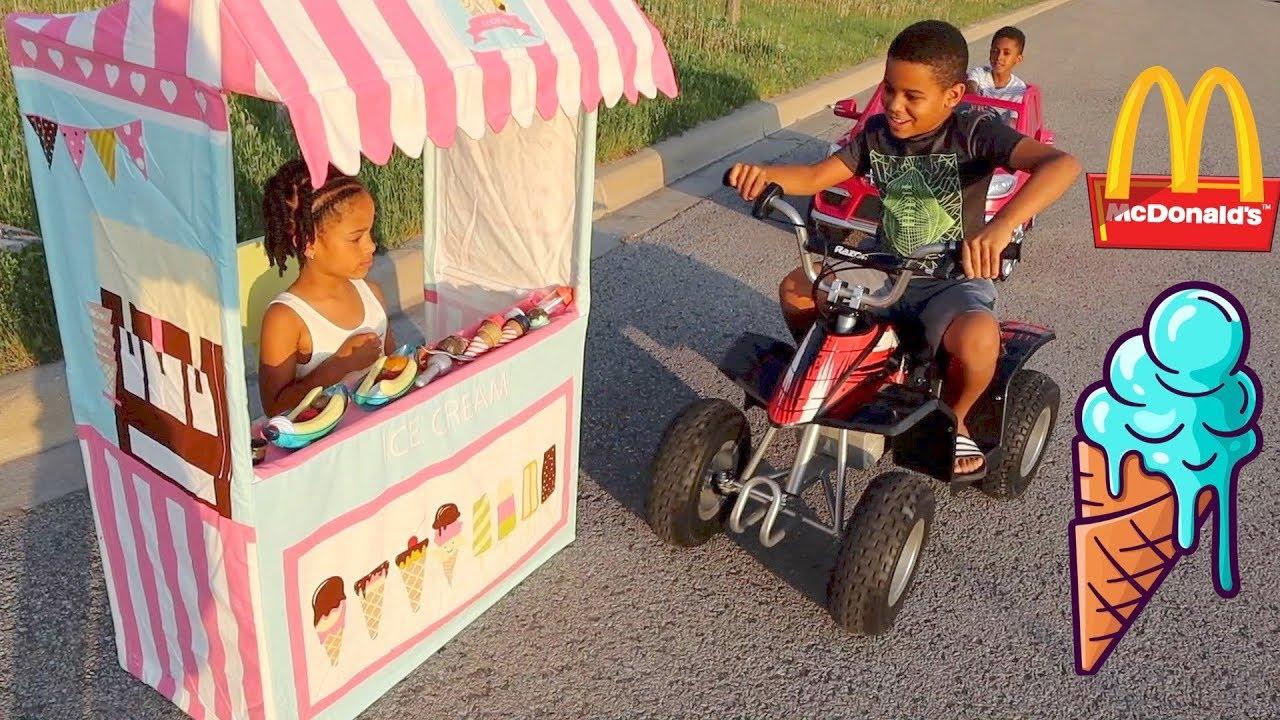 Download FamousTubeKIDS Best Drive Thru Moments | McDonald's, Ice Cream, Slime