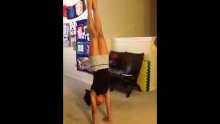 Longest handstand EVER