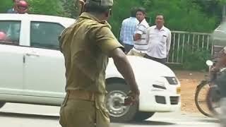 Great traffic police in Odisha
